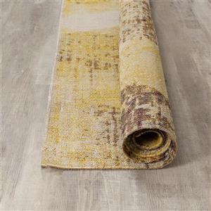 Kalora Sara Diamond Pattern Rug - 5' x 8' - Yellow