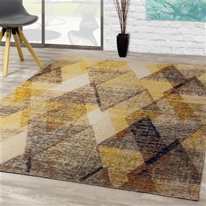 Kalora Sara Diamond Pattern Rug - 8' x 11' - Yellow