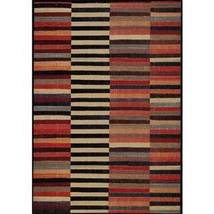 Kalora Sara Four Queues Rug - 8' x 11' - Orange