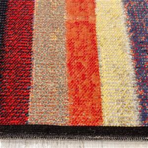 Kalora Sara Four Queues Rug - 5' x 8' - Orange