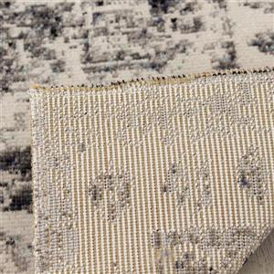 Kalora Sara Elaborate Edging Rug - 8' x 11' - Grey
