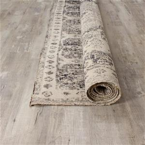 Kalora Sara Elaborate Edging Rug - 5' x 8' - Grey