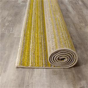 Kalora Safi Slender Bands Rug - 8' x 11' - Yellow
