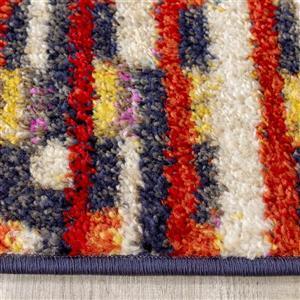 Kalora Saffron Blended Lines Rug - 8' x 11'