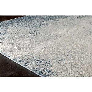 Kalora Sable Distressed Vignette Rug - 8' x 11' - Teal