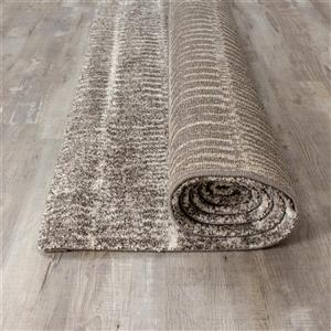 Kalora Sable Narrow Lineation Area Rug - 8' x 11' - Grey