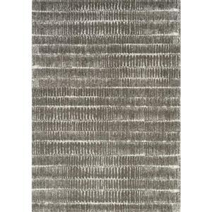 Kalora Sable Narrow Lineation Area Rug - 5' x 8' - Grey