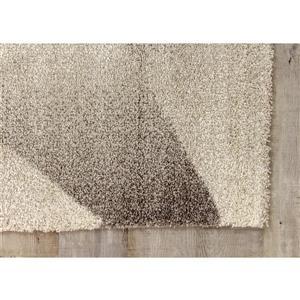 Kalora Sable Shaded Polygons Rug - 8' x 11' - Grey