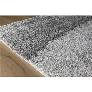 Kalora Sable Sandy Banks Rug - 7' x 10' - Grey