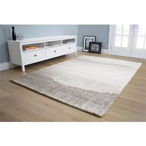Kalora Sable Sandy Banks Rug - 5' x 8' - Grey