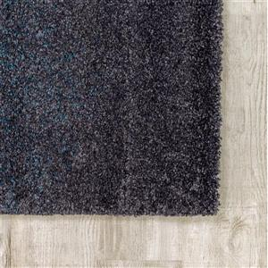 Kalora Sable Transition Edge Rug - 5' x 8' - Black