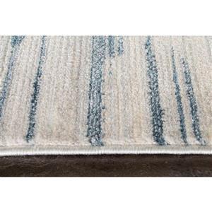 Kalora Promenade Stacked Stripes Rug - 8' x 11' - Grey