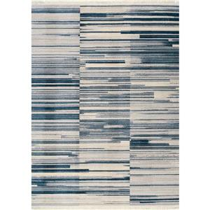 Kalora Promenade Stacked Stripes Rug - 5' x 8' - Grey