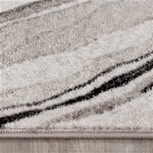 Kalora Platinum Sediments Pile Rug - 8' x 11' - Grey