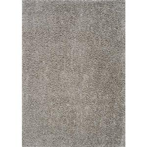 Kalora Plateau Soft Shag Rug - 8' x 11' - Light Grey