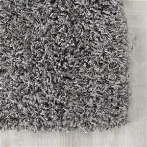 Kalora Plateau Soft Shag Rug - 8' x 11' - Dark Grey