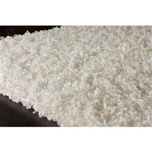Kalora Plateau Soft Shag Rug - 8' x 11' - Cream