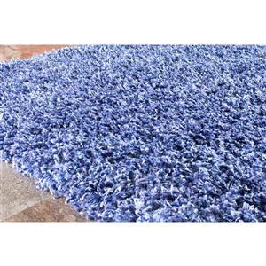 Kalora Plateau Soft Shag Rug - 8' x 11' - Blue
