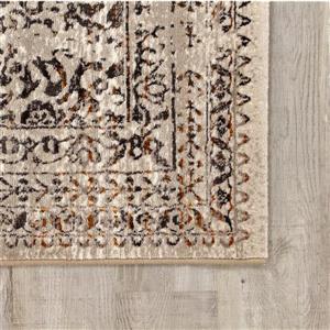 Kalora Parlour Distressed Traditional Rug - 5' x 8' - Grey