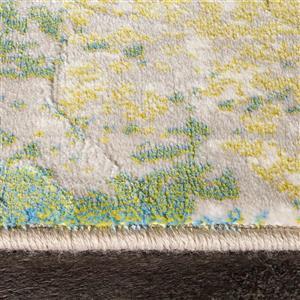 Kalora Parlour Distressed Abstract Rug - 8' x 11' - Cream