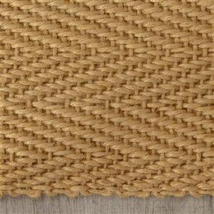 Kalora Naturals Jute Herringbone Rug - 8' x 11' - Beige