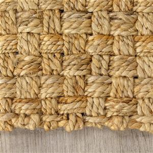 Kalora Naturals Jute Basketweave Rug - 8' x 11' - Beige