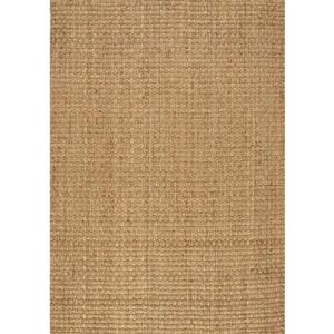 Kalora Naturals Jute Basketweave Rug - 5' x 8' - Beige