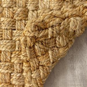Kalora Naturals Jute Basketweave Rug - 3' x 5' - Beige