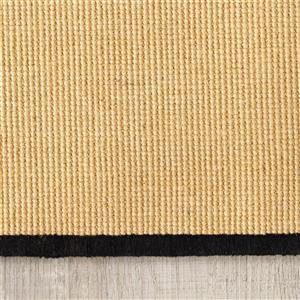 Kalora Naturals Micro Boucle Border Rug - 5' x 8' - Beige