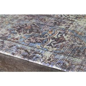 Kalora Morello Distressed Traditional Rug - 5' x 8' - Blue