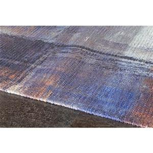 Kalora Morello Overlapping Paint Rug - 5' x 8' - Blue