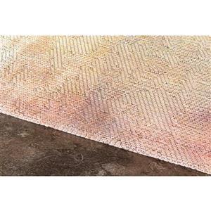 Kalora Morello Paint Strokes Rug - 5' x 8' - Beige