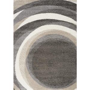 Kalora Mona Downward Spiral Rug - 2' x 4' - Beige