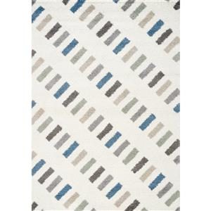 Kalora Mona Rectangles Rug - 5' x 8' - Blue