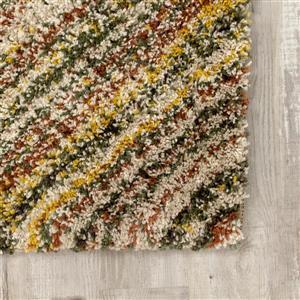 Kalora Maroq Crosshatching Rug - 8' x 11' - Beige