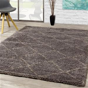 Kalora Maroq Diamonds Rug - 8' x 11' - Charcoal