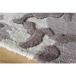 Kalora Manika Distressed Speckled Rug - 5' x 8' - Grey