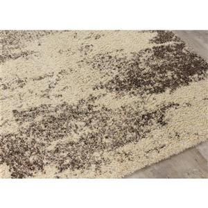 Kalora Lane Distressed Bark Rug - 8' x 11' - Cream