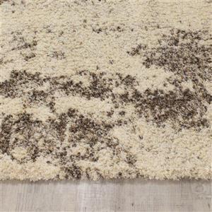 Kalora Lane Distressed Bark Rug - 5' x 8' - Cream