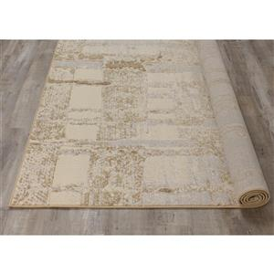 Kalora Intrigue Irridecant Reflects Rug - 5' x 8' - Cream