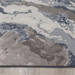 Kalora Intrigue Rushing Water Rug - 5' x 8' - Beige