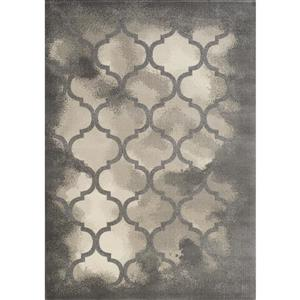 Infinity Cream/Grey Soft Terrace Area Rug