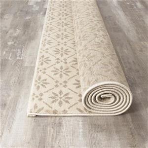 Kalora Infinity Buds Pattern Rug - 5' x 8' - Cream