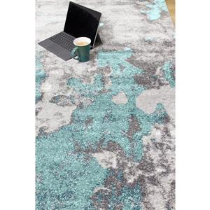 Kalora Freemont Abstract Expression Rug - 8' x 11' - Blue