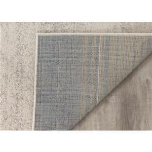 Kalora Focus Soft Transition Rectangle Rug - 8' x 11' - Grey