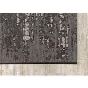 Kalora Domain Distress Outdoor Rug - 8' x 11' - Grey