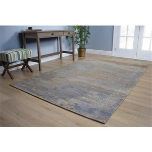 Kalora Cathedral Stormy Weather Rug - 8' x 11' - Blue