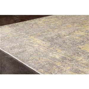 Kalora Cathedral Faded Traditional Rug - 5' x 8' - Yellow