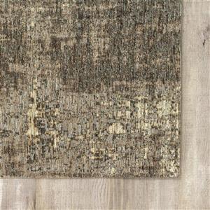 Kalora Cathedral Tree Bark Rug - 7' x 10' - Grey