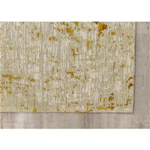 Kalora Cathedral Shabby Chic Rug - 8' x 11' - Cream